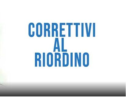 correttivi-al-riordino